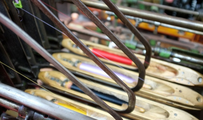 Le tissage sur métiers mécaniques