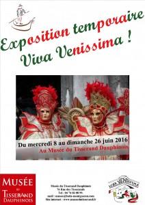 Affiche Exposition Viva Venissima