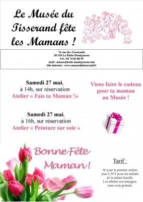 atelier fête des mamans 2017